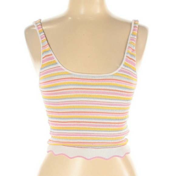 Forever 21 Tops - NWT Forever 21 Cropped Tank Multi Colors